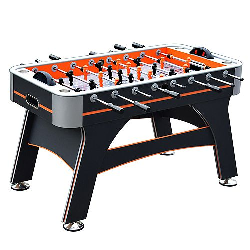 Trailblazer 56-in Foosball Table - Orange and Black