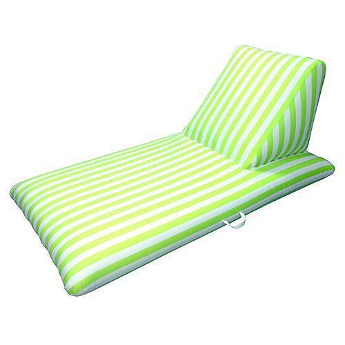 Drift and Escape Chaise longue de piscine vert lime - Signature Morgan Dwyer
