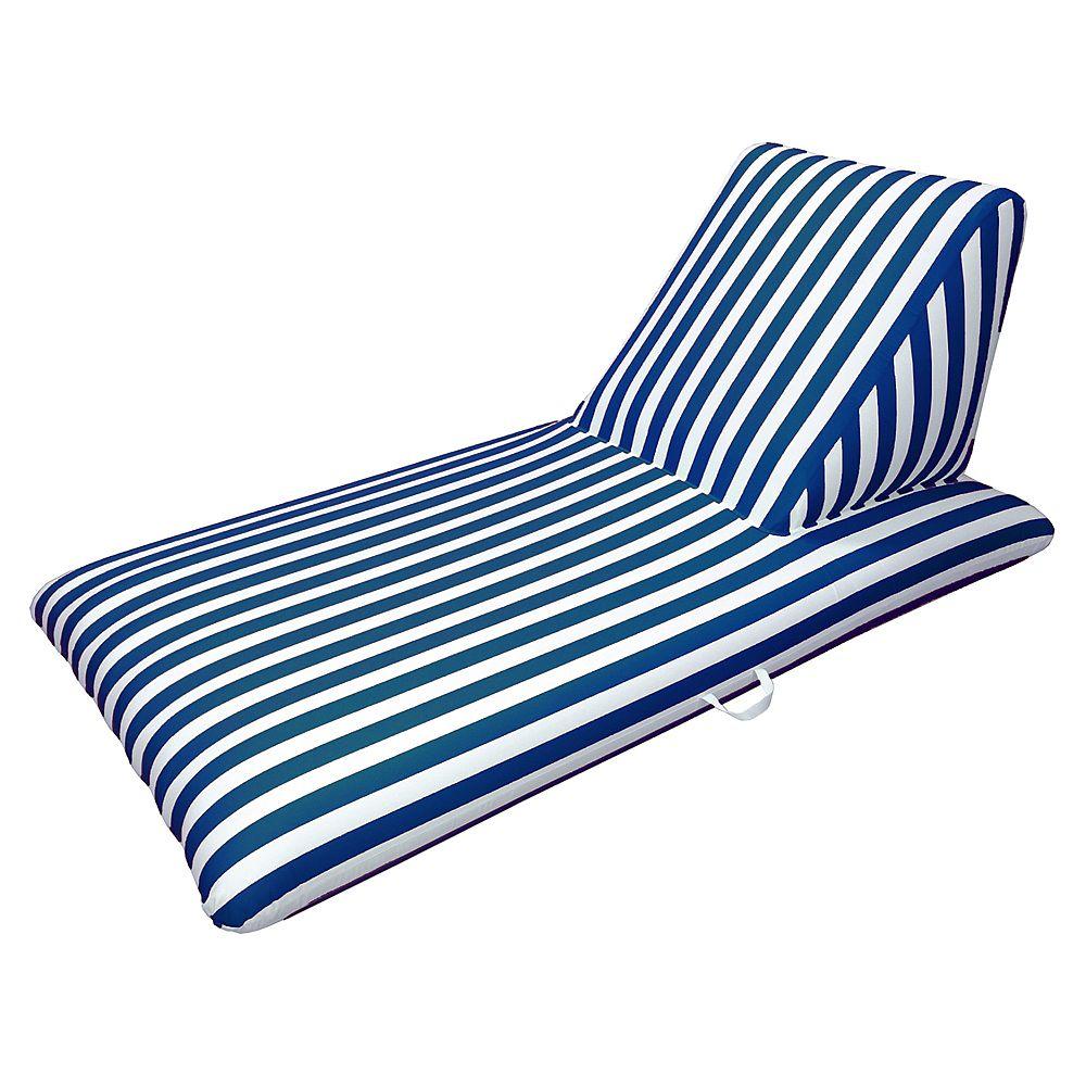 Drift and Escape Chaise longue de piscine bleu marine - Signature Morgan Dwyer