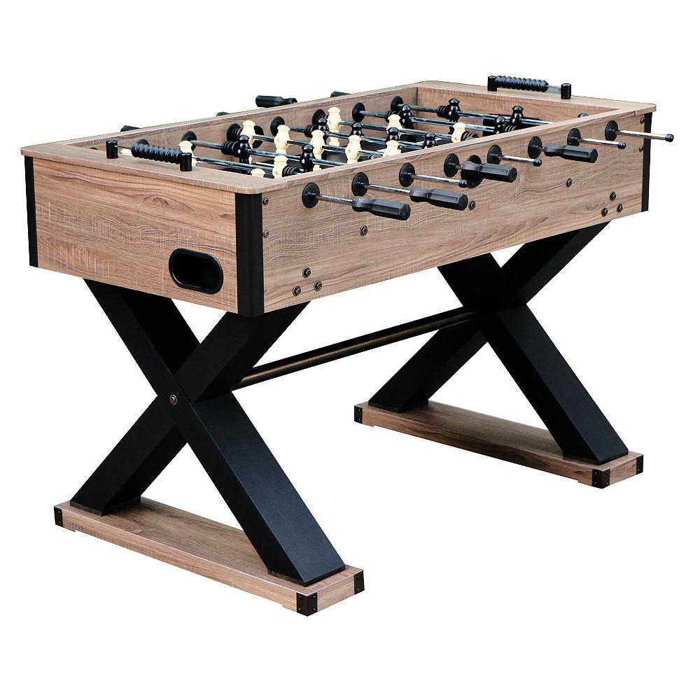 Hathaway Excalibur 54-in Foosball Table - Driftwood