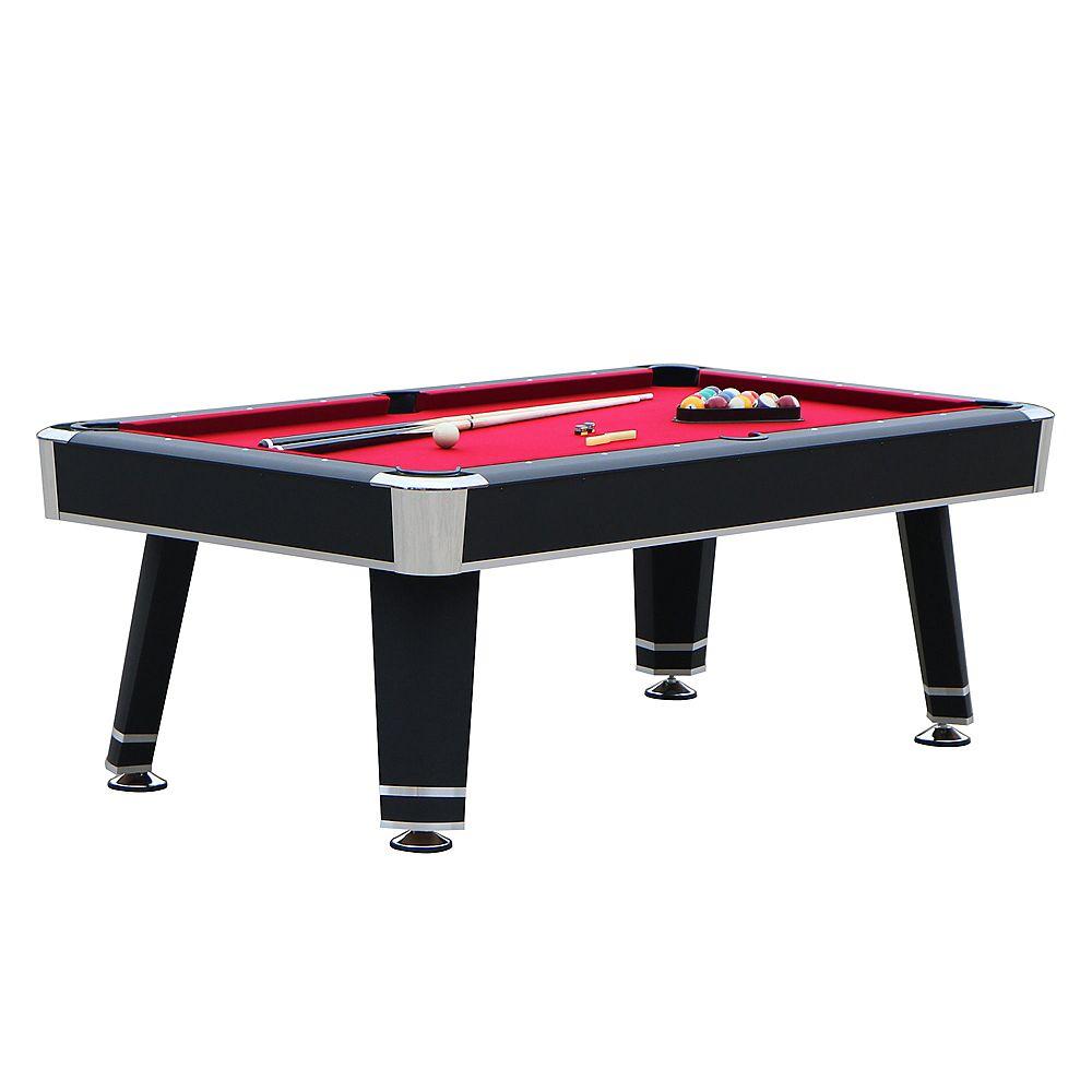 Hathaway Jupiter 7-ft. Pool Table - Black