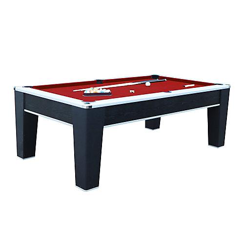 Mirage 7.5-ft. Pool Table - Black