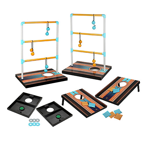 Triple Play 3 in 1 Toss Game - Bean Bag, Washer, Ladder Toss