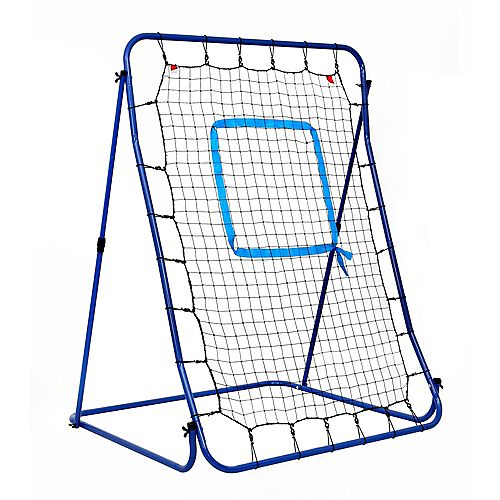 Carom Baseball Pitching Rebound Net for Practice with Bag
