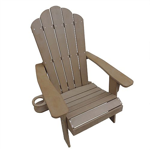 Adirondack Chair in Teak - Outdoor Deck, Patio Seating