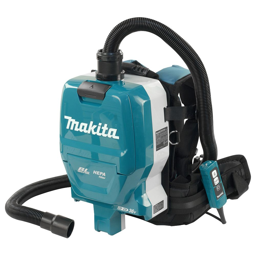 MAKITA 18Vx2 LXT Brushless Backpack Cleaner Bluetooth (Tool Only)