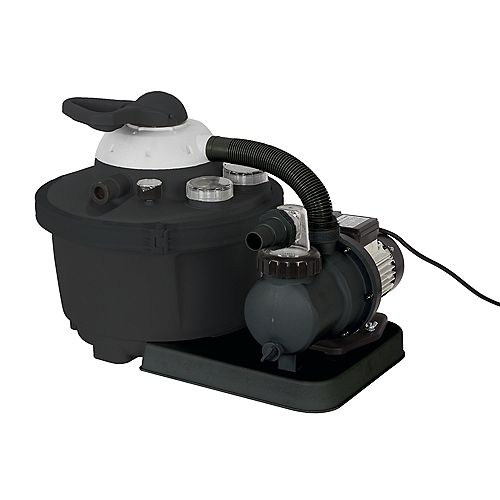 16-in, 35lb. Sand Filter System for Above Ground Pools