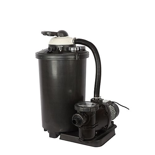 16-in, 75lb. Sand Filter System for Above Ground Pools