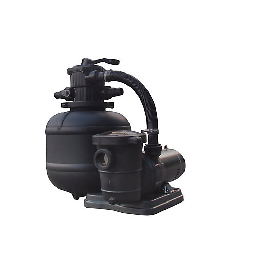 Pro 2 19-in 150lb. Sand Filter System 2SP Pump for AG Pools