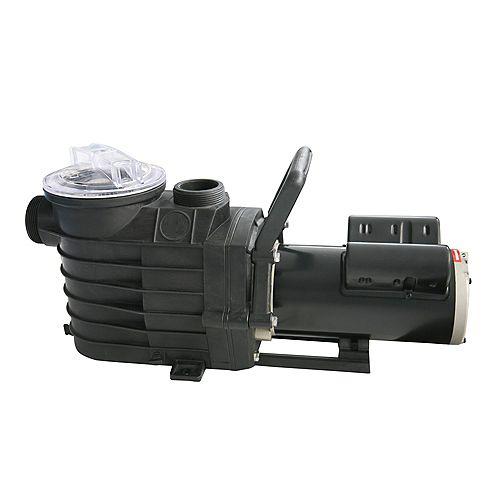48S 2-speed, 1HP In Ground Pool Pump, 2500-6000 GPH 115V
