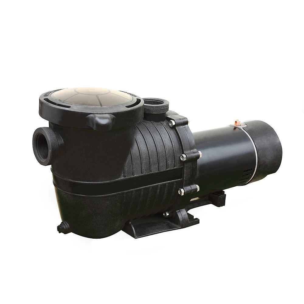 FlowXtreme Pro II 1HP In Ground Pool Pump 2-Speed 2280-5040 GPH, 230V