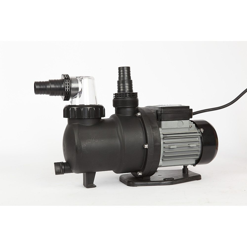 Flowxtreme Prime 3 4hp Above Ground Pool Pump 2300 Gph 30 Ft Max Head The Home Depot Canada