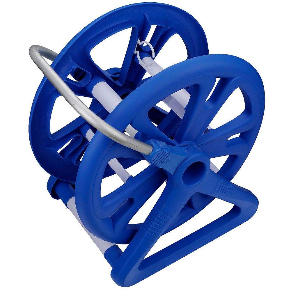 Aqua First Aluminum Vacuum Hose Reel For Swimming Pools For Up To 42 Inch Hoses The Home Depot Canada