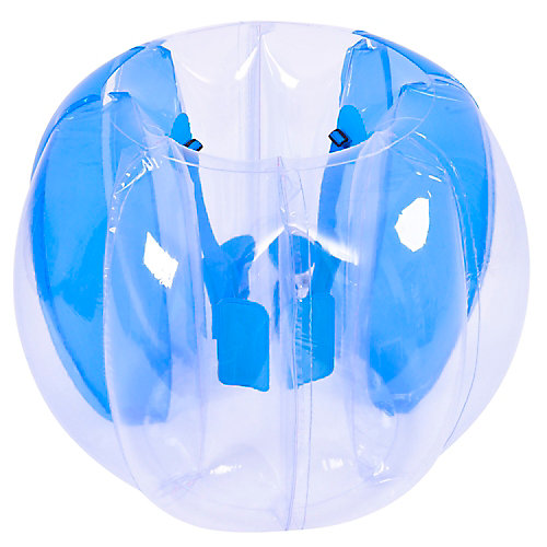 Maximum Impact ballon de soccer gonflable bleu buble