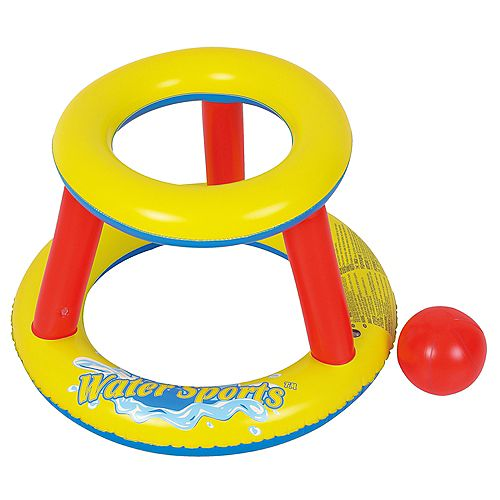 Mini jeu gonflable de splashketball de piscine