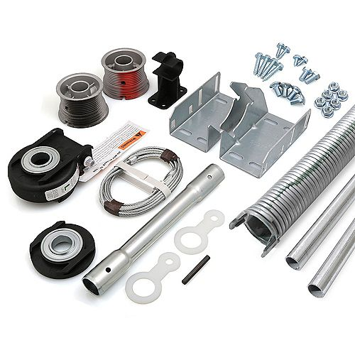 Kit de conversion EZ-Set a Torsion pour porte de garage 16 pi x 7 pi de 156-170 lbs
