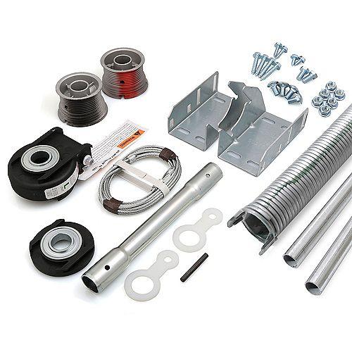 Kit de conversion EZ-Set a Torsion pour porte de garage 8 pi x 7 pi de 134-155 lbs