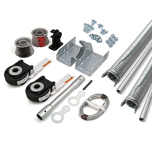 Kit de conversion EZ-Set a Torsion pour porte de garage 16 pi x 7 pi de 219-243 lbs