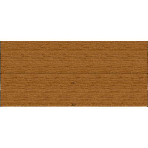 Collection Griffontown 16 pi x 7 pi Porte de garage Valeur «R» 18.4 isolée Intellicore Solide Fini pâle
