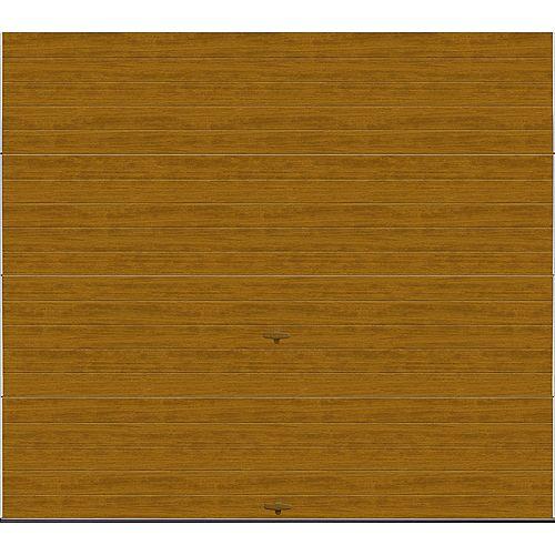 Clopay Collection Griffontown 9 pi x 7 pi Porte de garage Valeur «R» 18.4 isolée Intellicore Solide Fini pâle