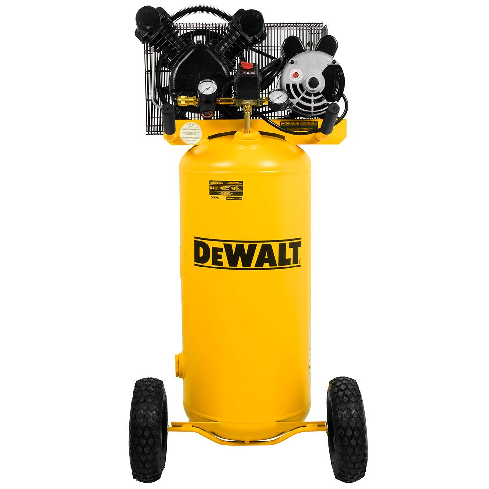 DEWALT 20 Gal. 155 psi Single Stage Portable Electric Air Compressor