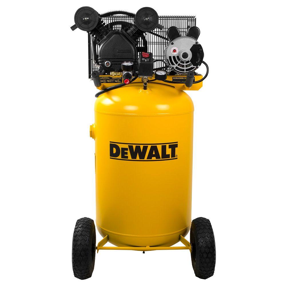 DEWALT Compresseur d'air portatif électrique à un étage 1,6 HP 113,6 L 11 bar/155 psi