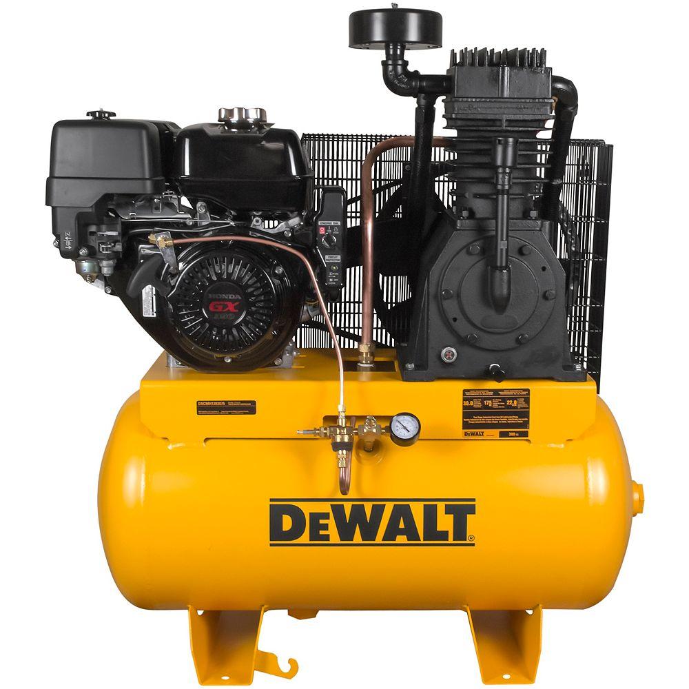 DEWALT 30 Gal. 2-Stage Portable Gas-Powered Truck Mount Air Compressor