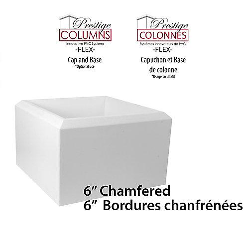 """Plinthe-PVC,CHMFRD-8 """"Col-6""""(ensemble)"""