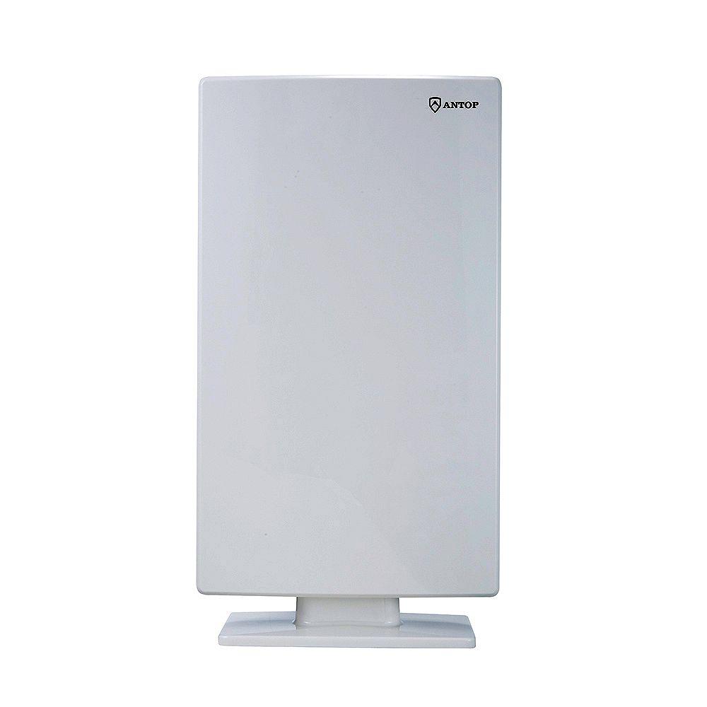 ANTOP Big Boy Flat-panel Smartpass Amplified Outdoor HDTV Antenna - 65 Mile