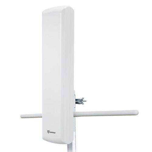 Antenne extérieur HDTV amplifié panneau plat de avec Smart Boost  85 miles
