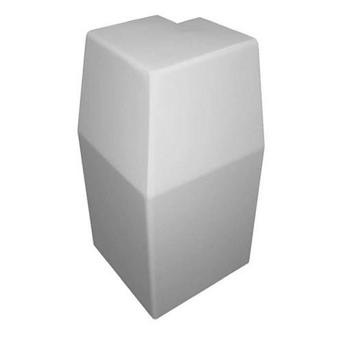 Baseboarders Série Premium 'Coin extérieur à 90 Degrés' en Blanc