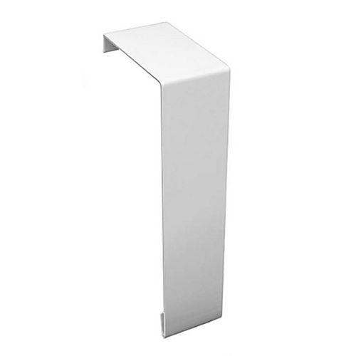 Basic Series Steel Easy Slip-On Baseboard Heater Cover Coupler in White