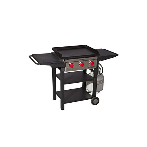 468 sq. inch 3-Burner Flat Top Grill and Griddle