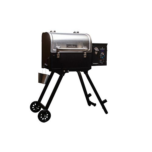 Camp Chef Pursuit Portable Pellet BBQ in Stainless Steel