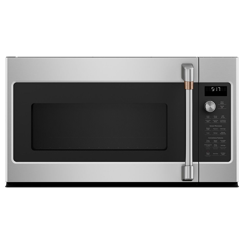 Café 1.7 cu. Ft. Over the Range Convection Microwave with Sensor Cooking in Stainless Steel