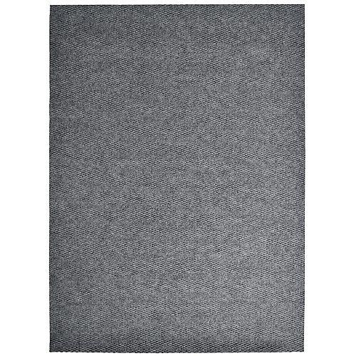 Tapis d'interieur/extérieur rectangulaire, 3 pi x 40 pi, Impact Popcorn, gris