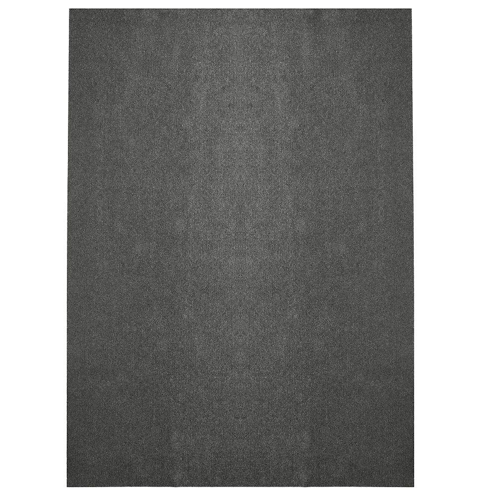 Lanart Rug Tapis d'intérieur /extérieur, 12 pi x 21 pi, Opus, gris