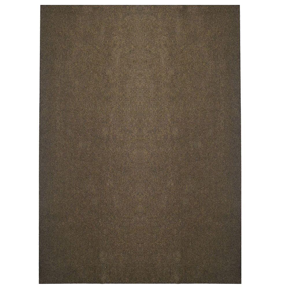 Lanart Rug Tapis d'intérieur /extérieur, 6 pi x 14 pi, Opus, brun