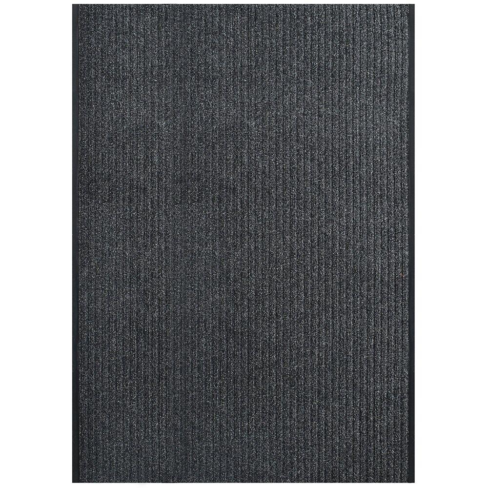 Lanart Rug Tapis d'intérieur /extérieur, 4 pi x 56 pi, Pioneer, charbon