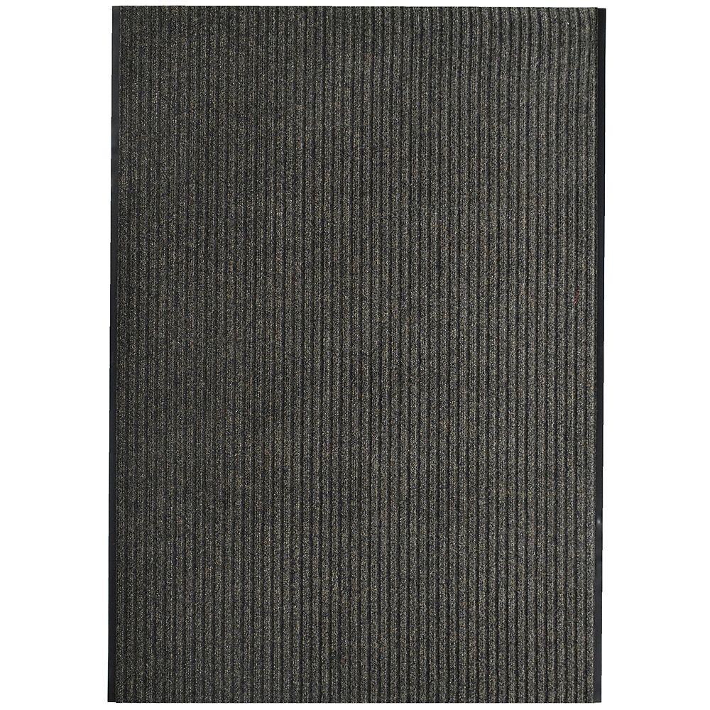 Lanart Rug Tapis d'intérieur /extérieur, 4 pi x 28 pi, Pioneer, brun