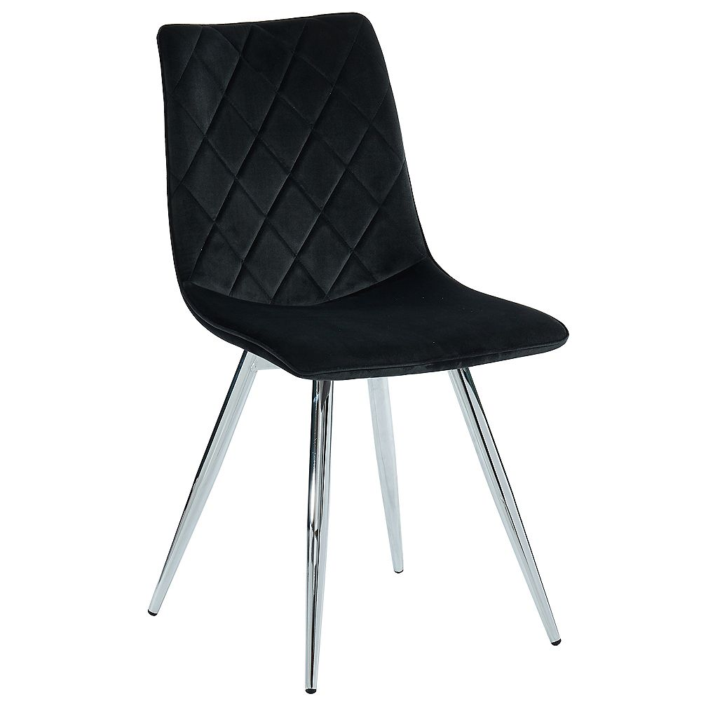 !nspire Marlo-Side Chair-Black (Set Of 2)