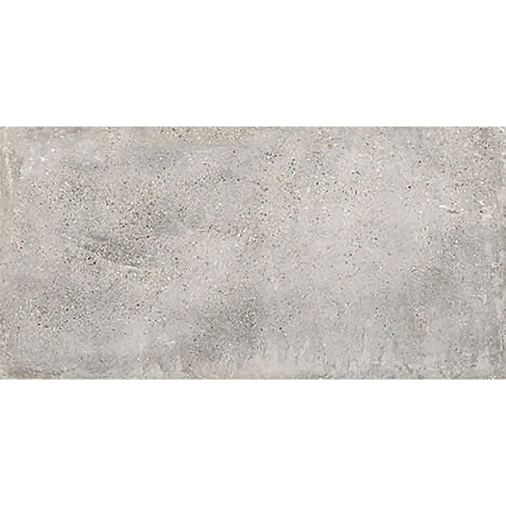 Mono Serra Carreaux pour mur et sols, Euro Cemento Grigio, 12 po x 24 po, 14.42 pi2 / caisse, porcelaine, gris