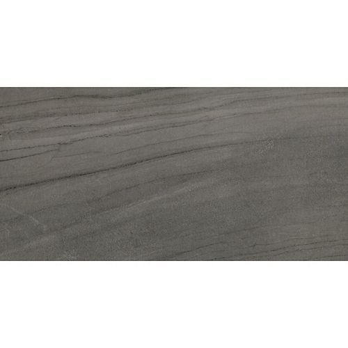 Euro North Stone Anthracite 12-inch x 24-inch Porcelain Floor and Wall Tile (14.42 sq. ft. / case)
