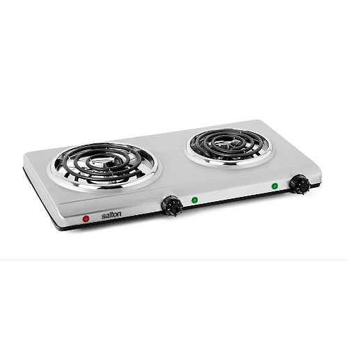 Portable Double Cooktop  - Stainless Steel