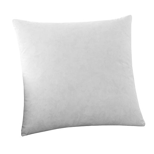 Feather Filled 100% Cotton Pillow Insert