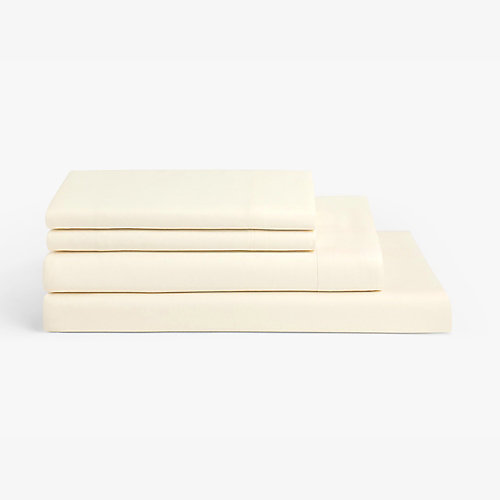 Millano Spa Ivory 4 Piece Sheet Set