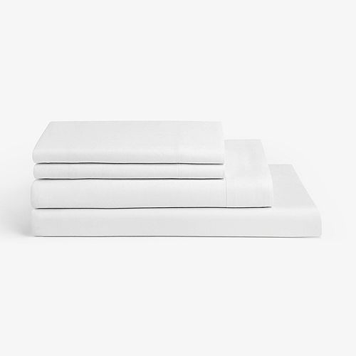 Millano Spa White 4 Piece Sheet Set