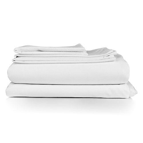 Millano Spa White 3 Piece Duvet Cover Set