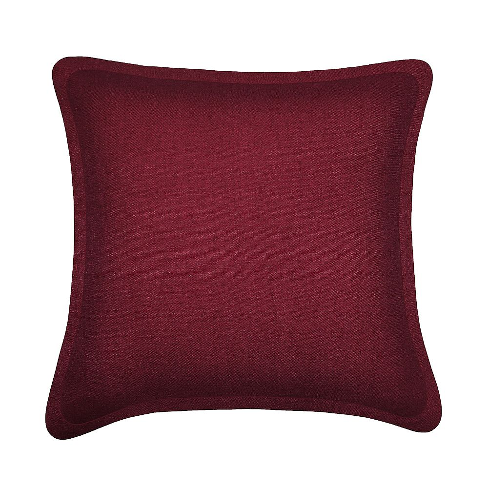 Millano Collection Coussin décoratif Tweed Bourgogne