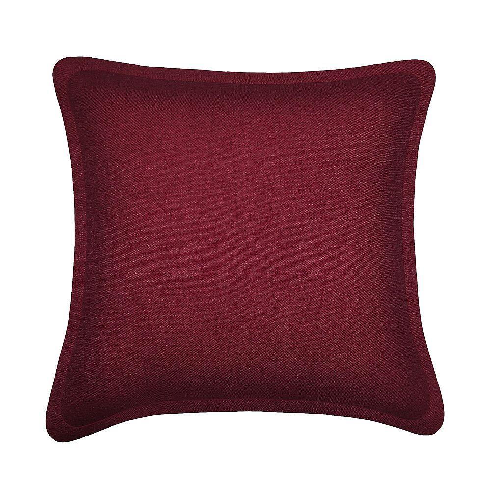 Millano Collection Tweed Burgundy Cushion